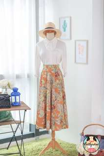 🍿 Vintage Midi Skirt VS1409