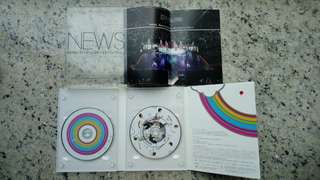 日版 NEWS Never Ending Wonderful Story 2 DVD