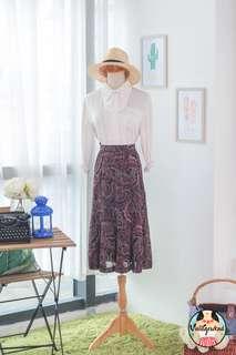 🍿 Vintage Midi Skirt VS1407