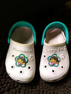 Authentic Dora Crocs