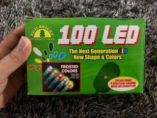 Bnew 100 LED Frosted Colors decorative lights
