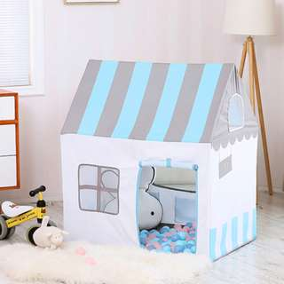 Blue Playhouse Tent