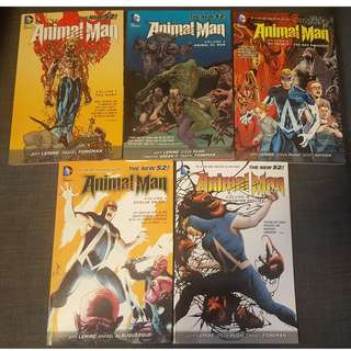 DC Comics New 52 Animal Man Vol.1 till Vol.5
