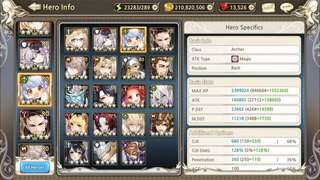 King's Raid Asia - End-game account