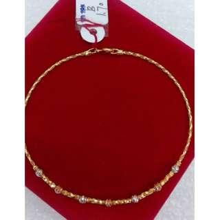 BANGLE 18K SPECIAL SAUDI GOLD '...