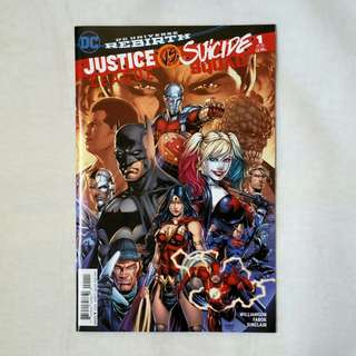 Justice League vs. Suicide Squad (#1 - 6)