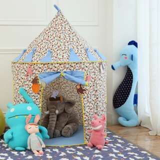 Indoor/Outdoor Kids Mickey Mouse Tent Blue