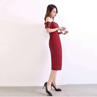 🚚 060102(S~L) 名媛性感連體褲洋裝