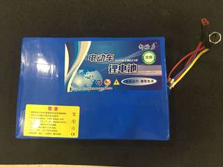 Electric Scooter Lithium Battery (36V 15Ah)
