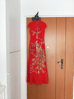 Wedding tea dress / cheongsam