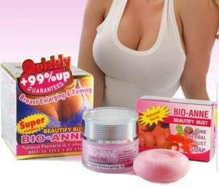 Bio-AnnePueraria Breast Enlargement Firming Cream120g. PlusBio-AnnePueraria Breast Soap 50g.