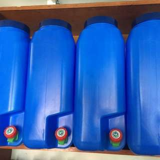 Mineral Water Slim Containers