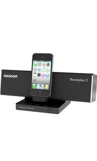 (89) AZATOM® Revolution Docking station: Amazing sound - 40 Watts - latest DSP Technology - Digital Amplifier - Unique Design - Pivot Feature - Full Remote Control
