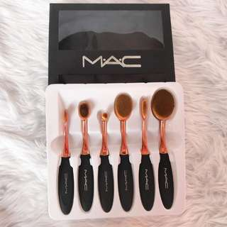 MAC Paddle Brush Set (Rose Gold)