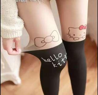 BN Hello Kitty Printed Stockings