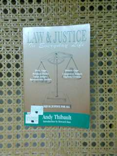 Law & Justice in everyday life