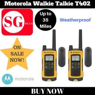 Motorola Walkie Talkie T402