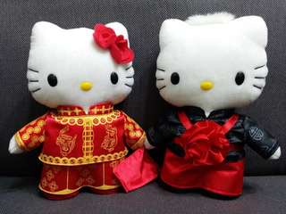 Hello Kitty 結婚公仔