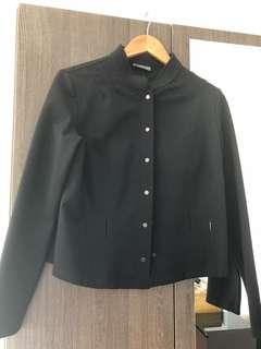 Designer wool jacket