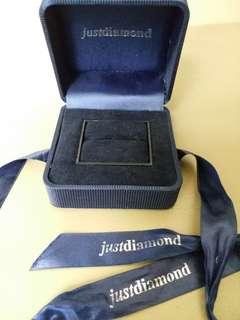 Just Diamond box 鑽石戒指盒