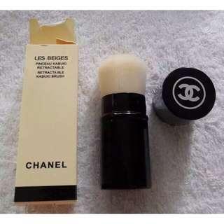 Chanel brush kabuki authentic animal hair