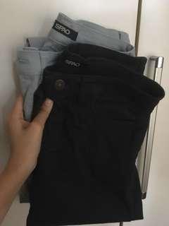 Spao深藍長牛仔褲x1 Spao淺藍長牛仔褲x1