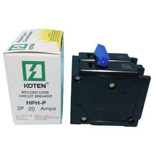 KOTEN CIRCUIT BREAKER 2P 20AMPS PLUG IN