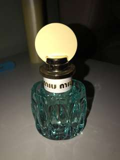 Miu Miu L'Eau Bleue (50ml) EDP (price reduced)