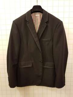 Thom Browne 3 black blazer