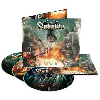 Sabaton – Heroes On Tour CD + 2DVD Digipak