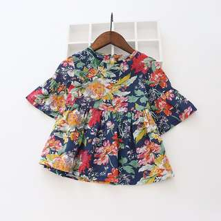 Floral Blouse preloved