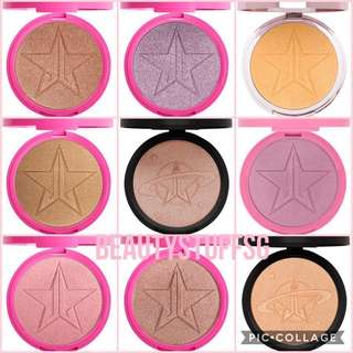 Jeffree Star Skin Frost highlighters