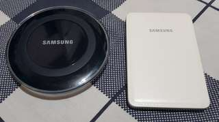 Authentic samsung accesories powerbank & wireless charger