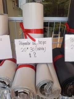 Polymailer bag 20*30 (white) 100pcs