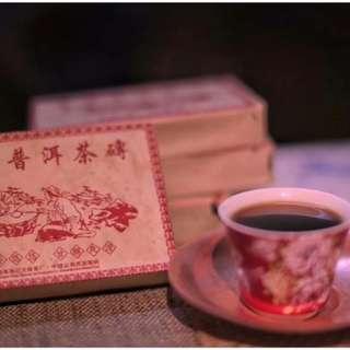 荷香普洱茶磚 250克 2006