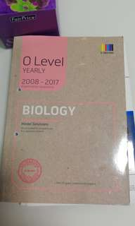 Biology 2008 to 2017 O level question