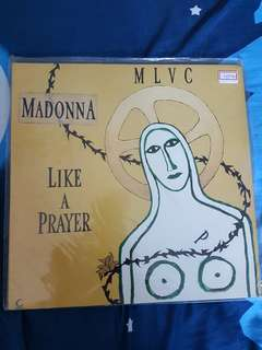 Madonna Like A Prayer Remixes Vinyl 12 inch