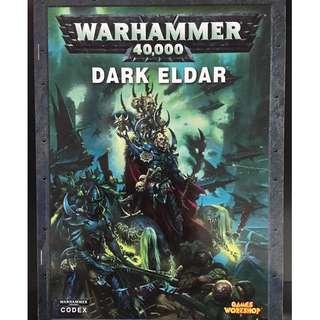 WARHAMMER 40K Dark Eldar Codex (2010)