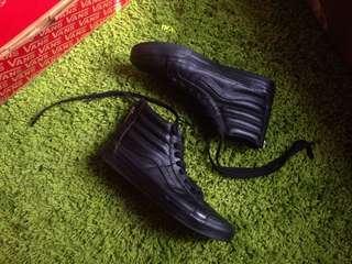 Vans SK8Hi Full Black Zip