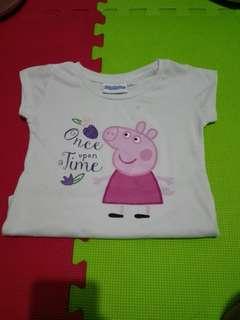 Peppa shirt 4t