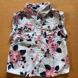 Carters floral polo
