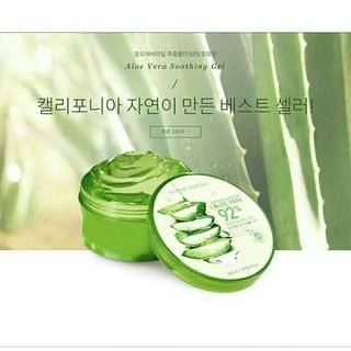 Nature republic aloevera soothing gel / aloe vera gel nature republic