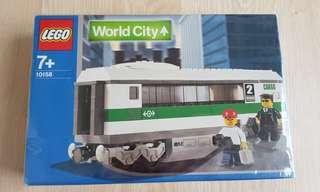Lego 10158, HIGH SPEED PASSENGER TRAIN LOCOMOTIVE, LEGO CITY TRAINS
