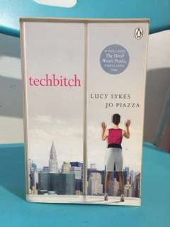 Techbitch by Lucy Sykes Jo Piazza - English Novel Story