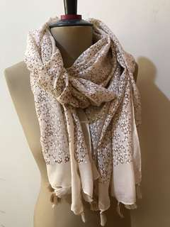 belinda scarf creme