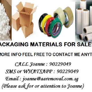 For Sale Packaging Materials