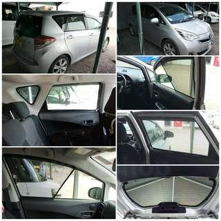 一🎊📣🎉 豐田 / 本田 / 日產 指定車款濾光網慮光網窗網太陽擋遮光網窗紗直銷價 $880 🎊📣🎉