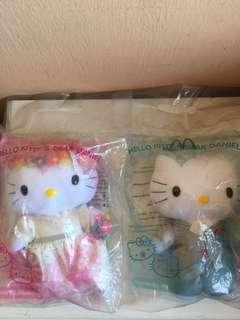 Hello Kitty & Dear Daniel Plush Dolls (Romantic Wedding)