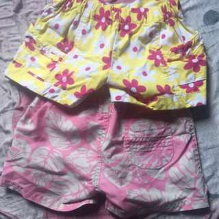 Baby short 2 for 60