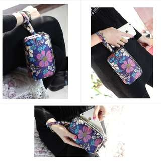 Pouch Multifungsi 3 Layer / Gadget pouch 3 layer / Dompet 3 layer